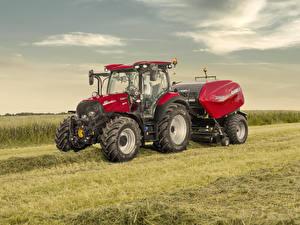 Фотографии Поля Сельскохозяйственная техника Трактора 2019-20 Case IH Versum 130 CVXDrive