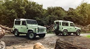 Фото Land Rover Двое Внедорожник Defender, 90 Heritage, 2015 авто