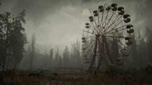 Фото Сталкер 2 Чернобыль Колесо обозрения Игры