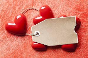 Фото День святого Валентина Шаблон поздравительной открытки Сердце