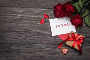 Картинки День святого Валентина Доски Шаблон поздравительной открытки Сердце Подарков Цветы