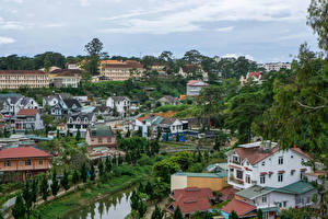 Фотографии Вьетнам Дома Dalat город