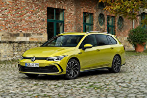 Фотографии Volkswagen Универсал Металлик Golf 2.0 TDI R-Line Variant, 2020 авто