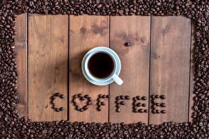 Картинки Кофе Зерно Чашка Слова Английская
