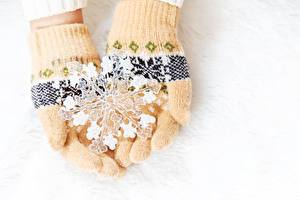 Картинки Перчатках Снежинки