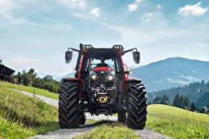 Фото Тракторы Спереди Lindner Lintrac 130, 2019--