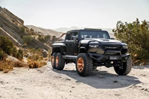 Фото Пикап кузов Черных Rezvani Hercules 6x6, 2020