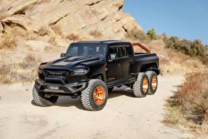 Фотографии Пикап кузов Черная Rezvani Hercules 6x6, 2020