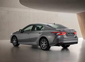 Фото Toyota Серый Металлик Camry Hybrid, EU-spec, 2020 машины