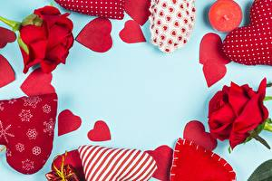 Фотографии День всех влюблённых Сердечко Шаблон поздравительной открытки цветок