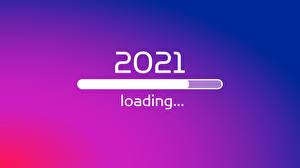 Фото Новый год 2021 Цветной фон