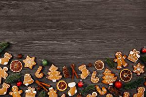 Картинка Рождество Печенье Игрушки Шаблон поздравительной открытки Снежинки Шар
