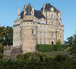 Обои Франция Замки Château de Brissac Города