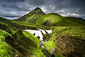 Фотография Исландия Горы Gaia Природа
