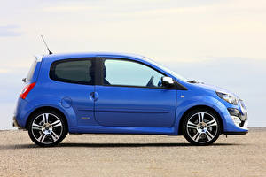 Фото Renault Синяя Металлик Сбоку Twingo R.S., Gordini, 2012–14 Автомобили