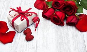 Картинка Роза День святого Валентина Подарков Шаблон поздравительной открытки Цветы