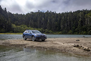 Фотография Субару Кроссовер Синий Металлик 2020 Outback Touring машины