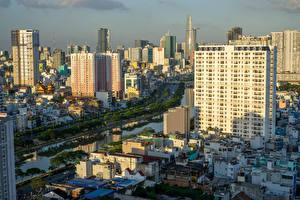 Фотографии Вьетнам Дома Речка Ho Chi Minh City