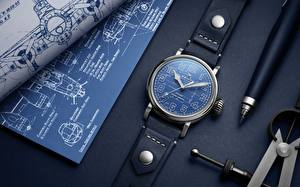 Картинка Наручные часы Крупным планом Шариковая ручка Zenith Pilot Type 20 Blueprint
