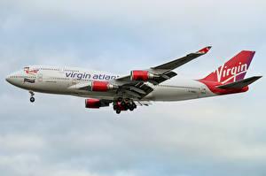 Фото Boeing Самолеты Пассажирские Самолеты 747-400, Virgin Atlantic Airways
