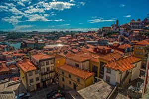 Фото Португалия Порту Дома Краши город