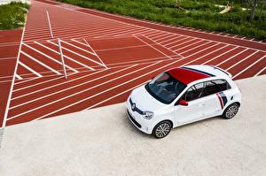 Картинки Рено Белый 2019 TWINGO Le Coq Sportif авто