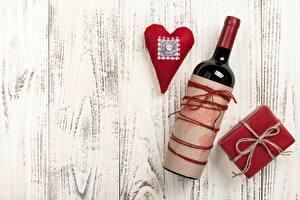 Фотографии День святого Валентина Сердце Доски Шаблон поздравительной открытки