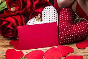 Фото День всех влюблённых Шаблон поздравительной открытки Сердце
