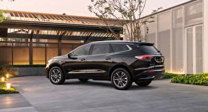 Обои для рабочего стола Buick CUV Черная Металлик Enclave Avenir, 2021 машины