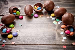 Картинка Шоколад Пасха Драже Яйцо Шаблон поздравительной открытки Еда