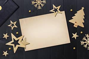 Картинка Новый год Шаблон поздравительной открытки Елка Звездочки Лист бумаги