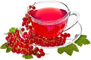 Картинки Смородина Чай Лист Чашка Блюдце Пища