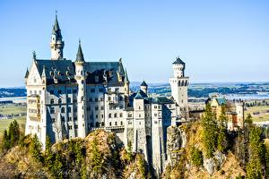 Фото Германия Замок Нойшванштайн Бавария