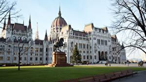 Фотография Венгрия Будапешт Памятники Parliament