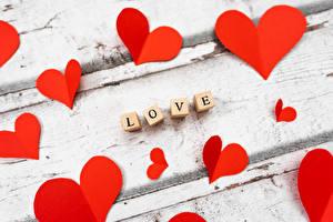 Фотография Любовь День святого Валентина Слова Сердце Инглийские