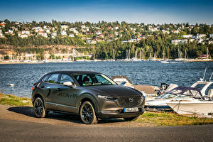 Обои Mazda Серый 2019 e-TPV Prototype машины
