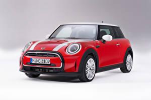 Картинки Мини Красных Металлик Cooper, Worldwide, (F56), 2021 Автомобили