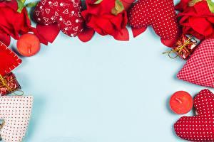 Фотография День всех влюблённых Шаблон поздравительной открытки Сердца