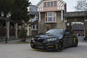 Фото BMW Черная Металлик 2014-20 Manhart MH2 400 WB