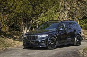 Фотография БМВ Черные Металлик CUV 2020 Lumma CLR X7 машины