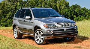 Фото BMW Серая CUV X5 4.8is, US-spec, 2004 авто