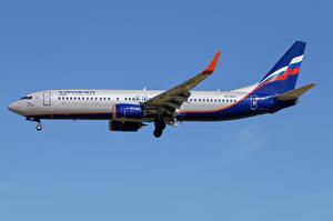 Фотография Boeing Самолеты Пассажирские Самолеты Сбоку 737-800W, Aeroflot