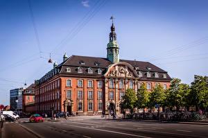 Фотографии Дания Копенгаген Здания Улиц Города