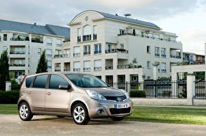 Фото Nissan Серая Металлик Note Worldwide (E11), 2009-13 авто