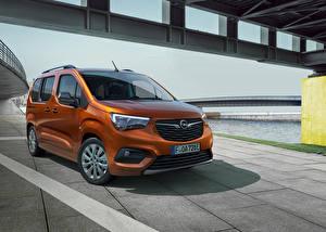 Картинки Opel Фургон Коричневый Металлик Combo-e Life, 2021 автомобиль