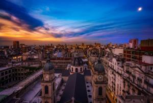 Фотография Аргентина Дома Небо Buenos Aires