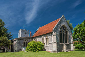 Фотографии Англия Церковь Hampshire, St Peter's Church Города