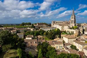 Фотография Франция Здания Церковь Saint-Emilion, Monolithic church Города