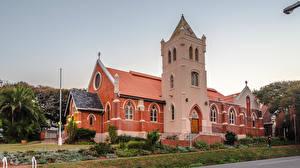 Обои Южно-Африканская Республика Церковь Башни Durban