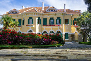 Фотография Вьетнам Дворца Кусты Bao Dai King Palace in Da Lat город